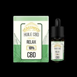 Huile de CBD Relax 10% | CBD Marketplace