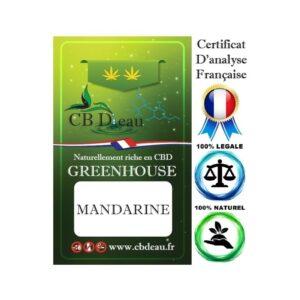 Fleur de CBD Mandarine | CBD Marketplace