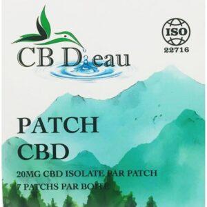 Patch au CBD 7x 20mg | CBD'eau | CBD Marketplace