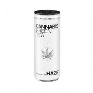 Thé vert cannabis 250ml | HaZe | CBD Marketplace