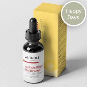 Huile CBD 10% + Vitamine D   Alpinols   CBD Marketplace