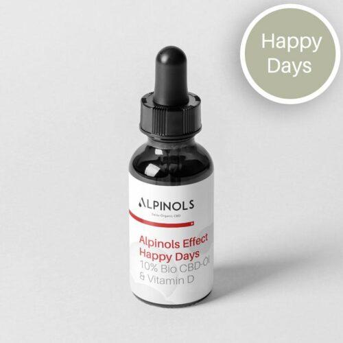 Huile CBD 10% + Vitamine D | Alpinols | CBD Marketplace