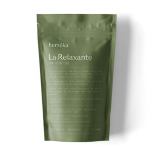 Infusion Chanvre CBD La Relaxante | Saveurs x Hemeka® | CBD Marketplace