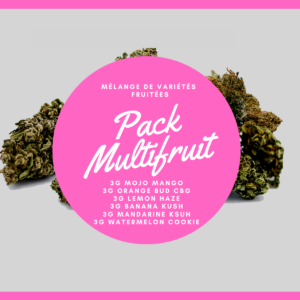Pack Multifruit 18g | Milsens CBD | CBD Marketplace