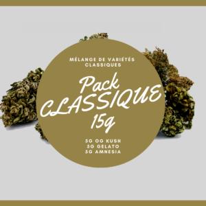 Pack Classique 15g | Milsens CBD | CBD Marketplace