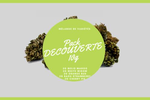 Pack Découverte 10g | Milsens CBD | CBD Marketplace