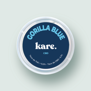 fleur de cbd gorilla blue kare