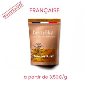 Fleur Française CBD Master Kush | Saveurs x Hemeka® | CBD Marketplace