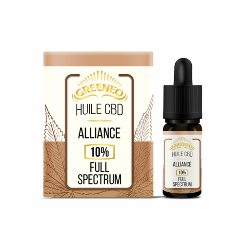 Huile CBD Full Spectrum Alliance 10% | Greeneo | CBD Marketplace