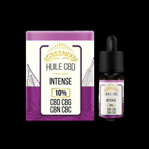 Huile Intense CBD+CBG+CBN+CBC   Greeneo   CBD Marketplace