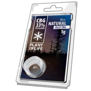 Hash CBG 33% Raw Natural 1g | Plant Of Life | CBD Marketplace
