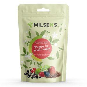 Rooibos Fruits Rouges 10% CBD 100gr | Milsens CBD | CBD Marketplace