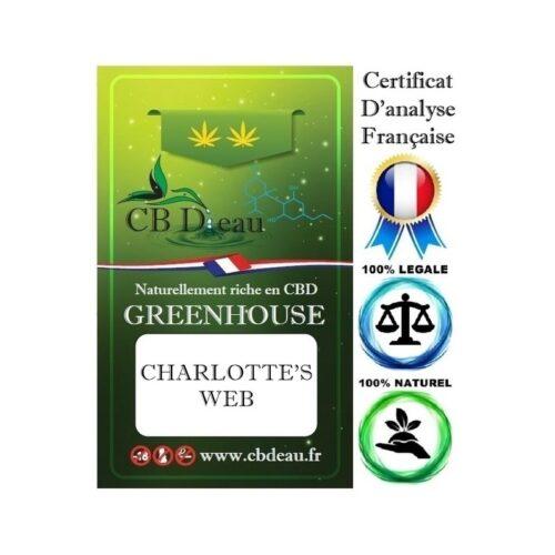 Charlotte's Web Fleur de CBD   CBDEau   CBD Marketplace