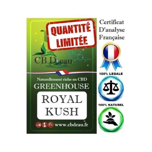 Royal Kush Fleur de CBD | CBDEau | CBD Marketplace