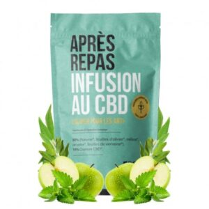 Infusion CBD Après Repas - Tizz | Le Petit Botaniste | CBD Marketplace